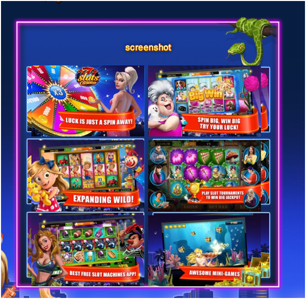 777 slots app- Games features