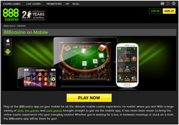 888 Casino Download for PC - 888Casino App - Android & iOS
