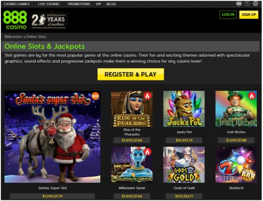888 Casino Free Play Winnings