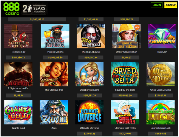 Best 888 casino slots spin palace casino australia review