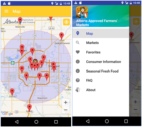 Alberta Market App For Android