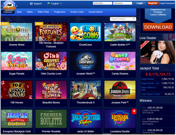 All Slots Tablet Casino