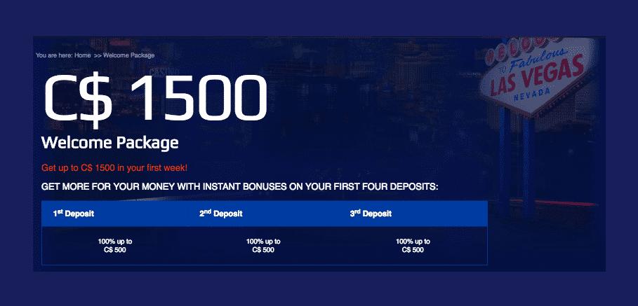 All slots casino canada bonus