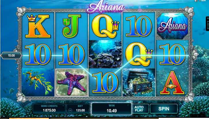 Ariana Slot Game