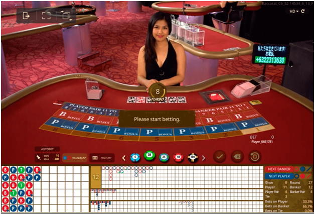 Best casino games to play- Baccarat
