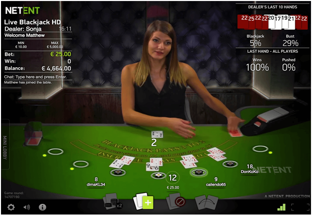 Best casino games to play- Blackjack