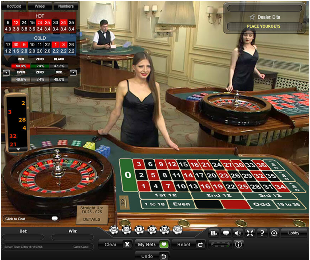 Best casino games to play- Roulette