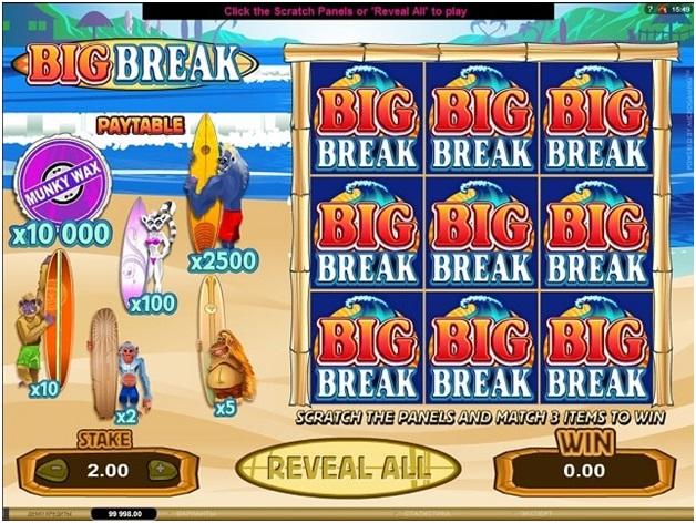Big break scratch