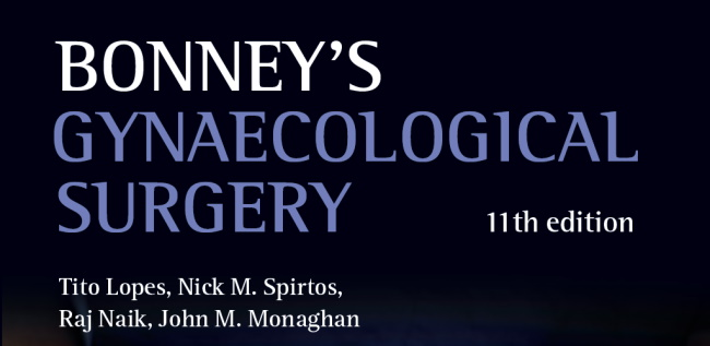 Bonney's Gyn. Surgery, 11th Edition