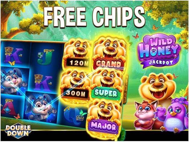 Bonuses at Double Down Casino app