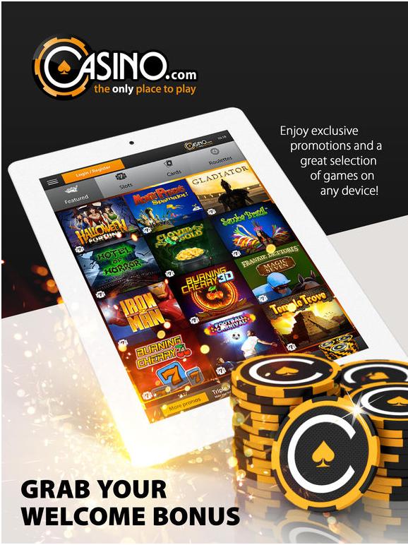 Casino.com latest bonuses in CAD