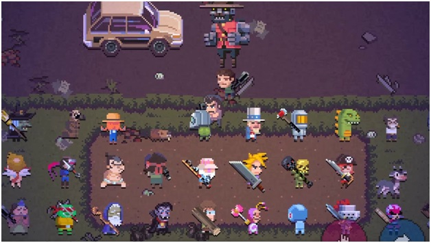 Characters in death road to canada
