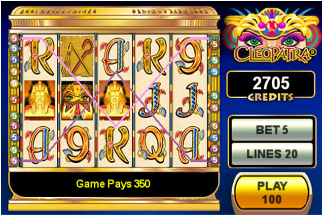 Cleopatra slots- real money play