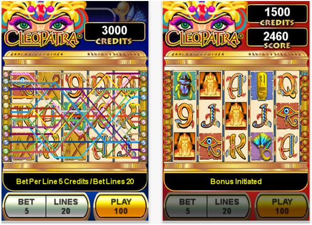 Cleopatra slots app