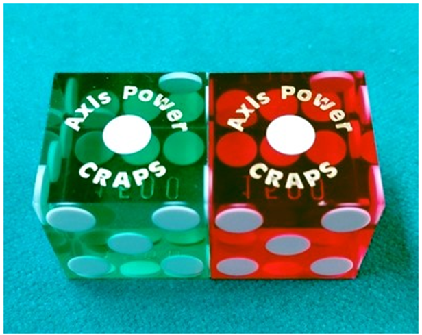 Craps dice hacks