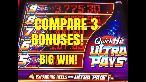 Does Quick Hit Slot Pay Out Big than other Slot Games