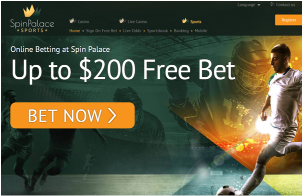 Spin Palace Esports casino online for Canadians