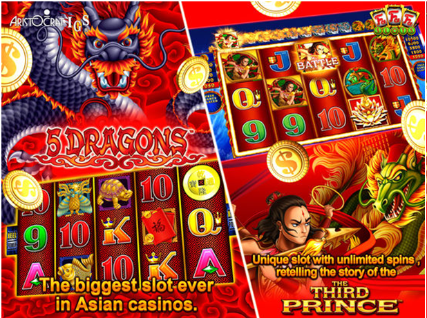 Can I play aristocrat slots for android?- Find the answer to the
