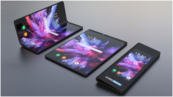 Foldable phone support