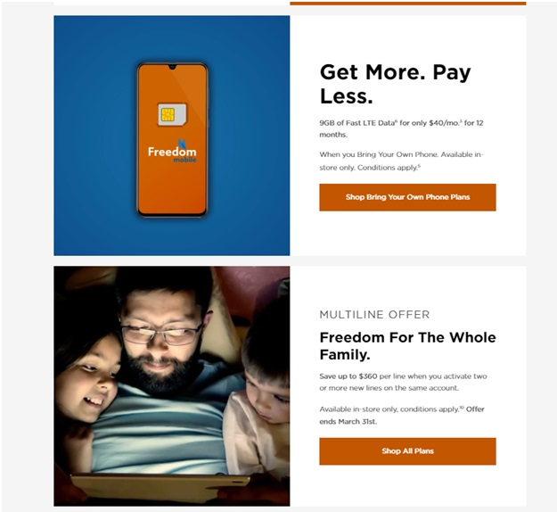 Freedom mobile plans on covid