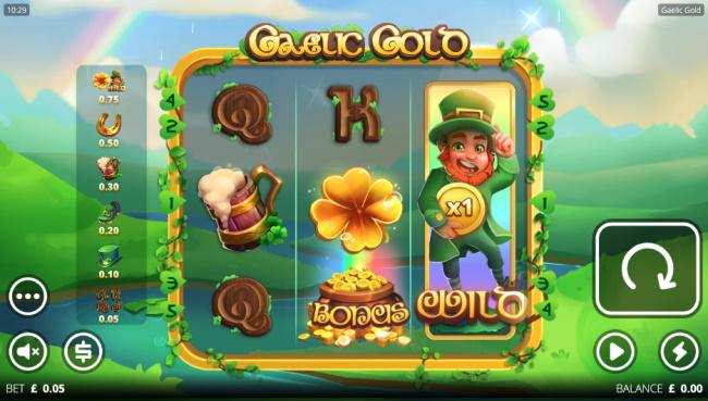 Gaelic Gold Theme - Audio & Design features