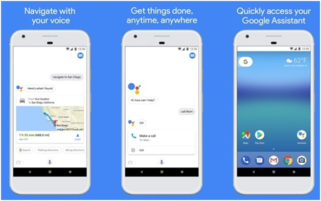 Google Assistant app - The Siri Way to use