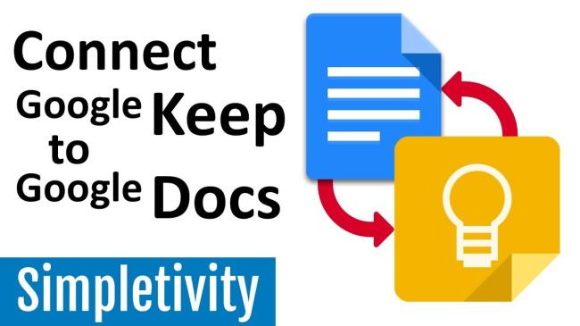 Google Docs, Drive, and Keep