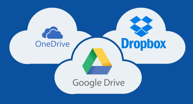 Google Drive or other cloud storage