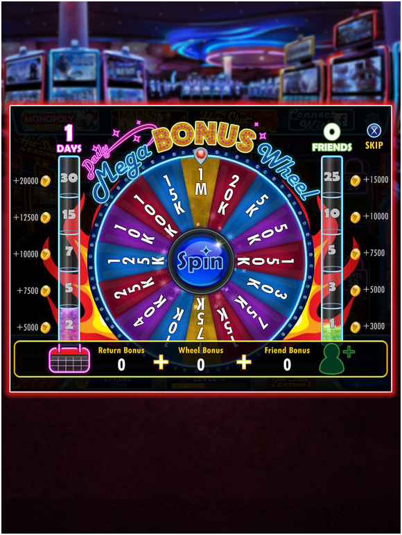Hot shot casino slots bonuses