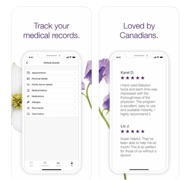 Babylon Health App in Canada