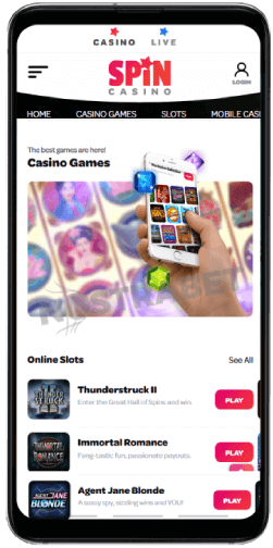 How to Play Vegas Spin Slots at Spin Casino Canada with your Android