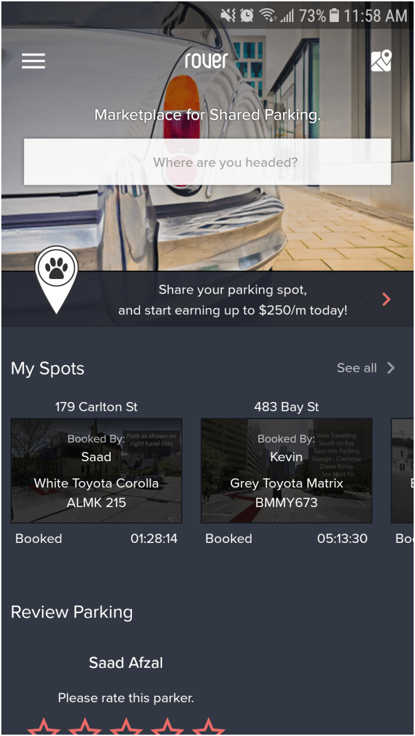How to add spot at rover app