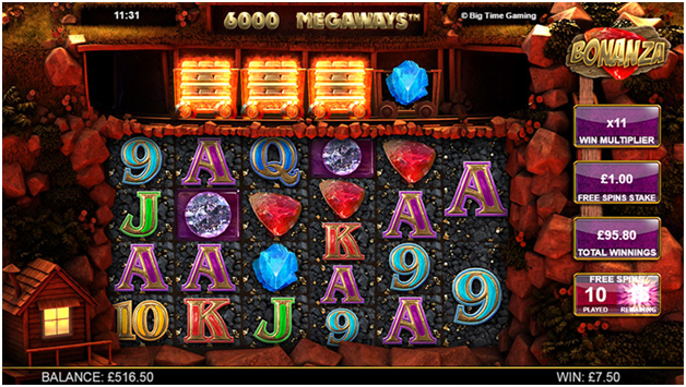 How to play Bonanza Slot Megaways