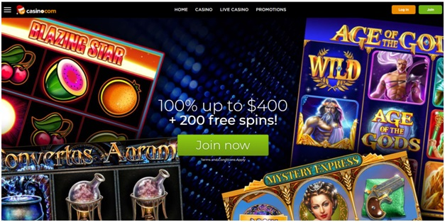 How to play instant scratchies at Casino.com with CAD