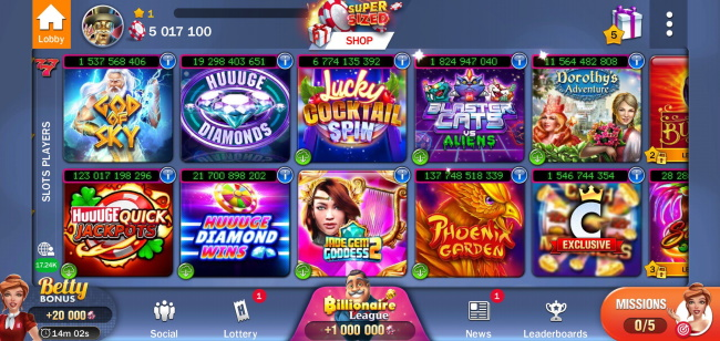 Huuuge Casino is more than just slots