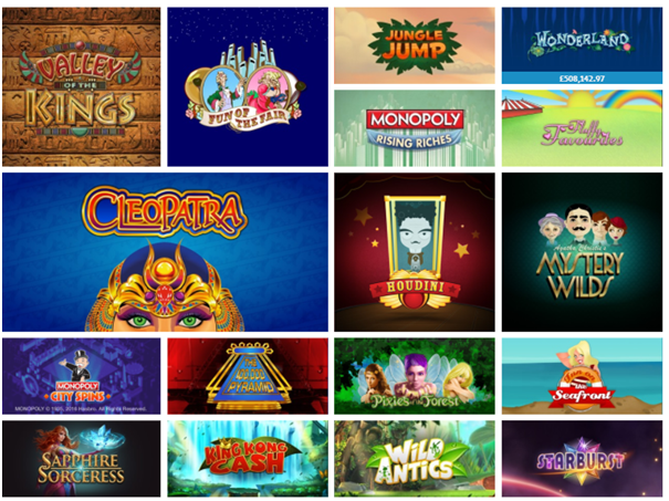 Jackpot Joy Games