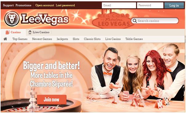 Leo Vegas Casino Banking