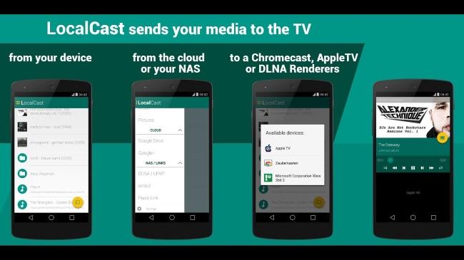 LocalCast chromecast app
