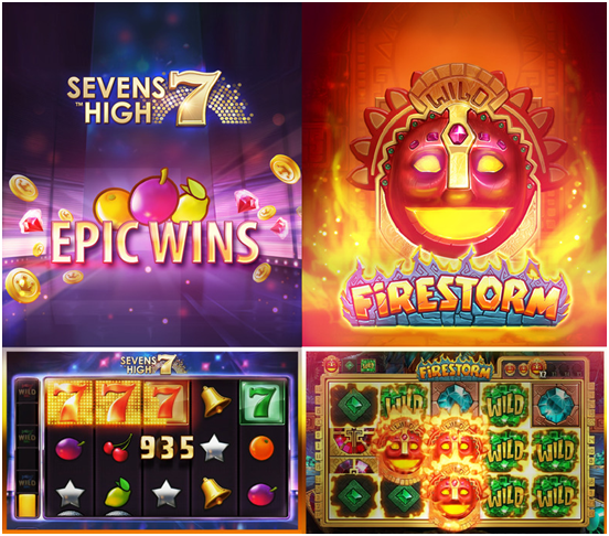 Mirrorball slots game features
