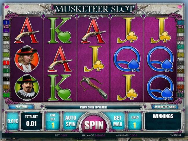 Musketeer Slot – 96.69%