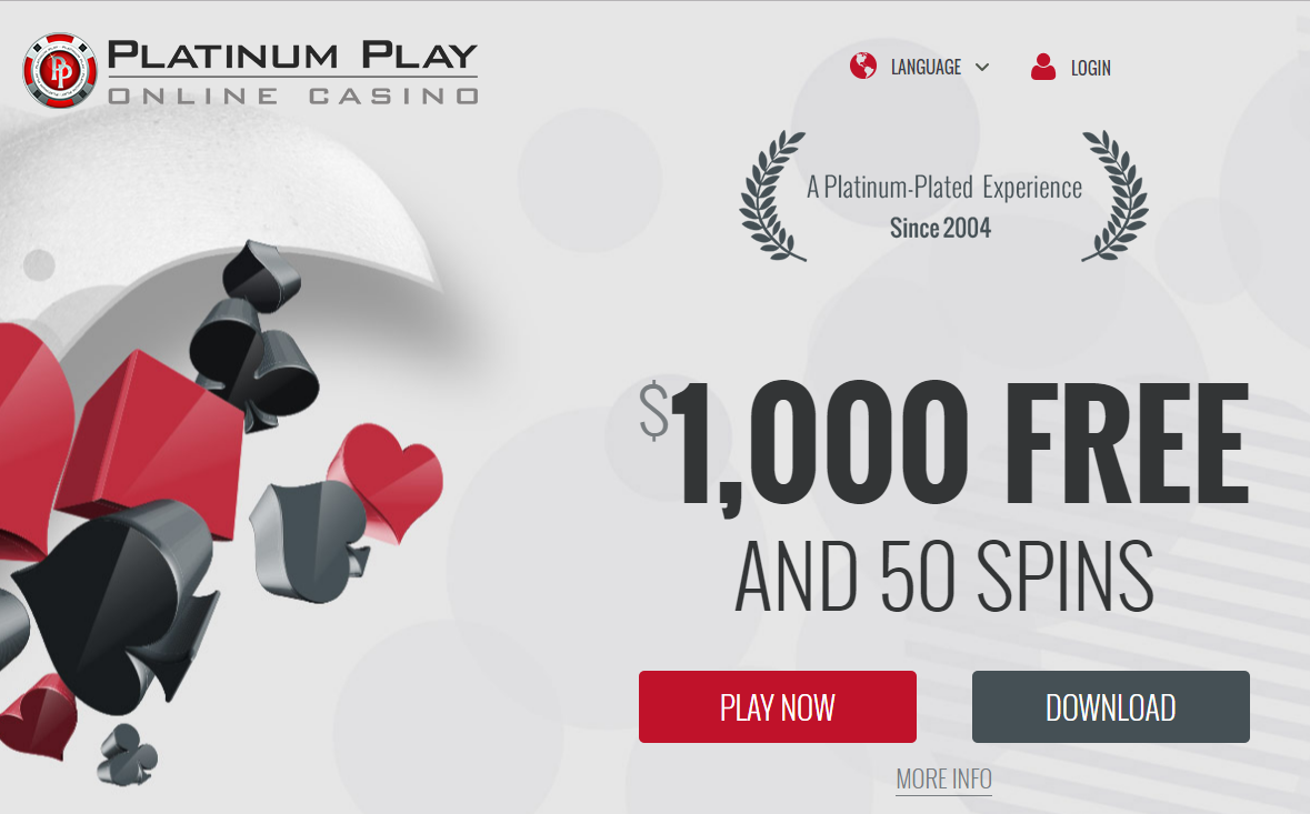 platinum play casino slots