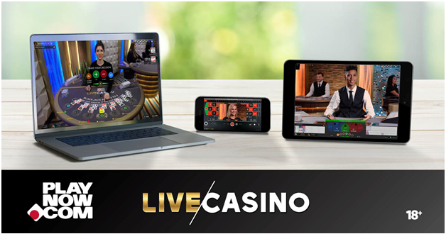 Play Now Live Casino Canada