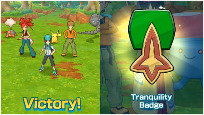 Tranquility Badge in Pokemon Masters