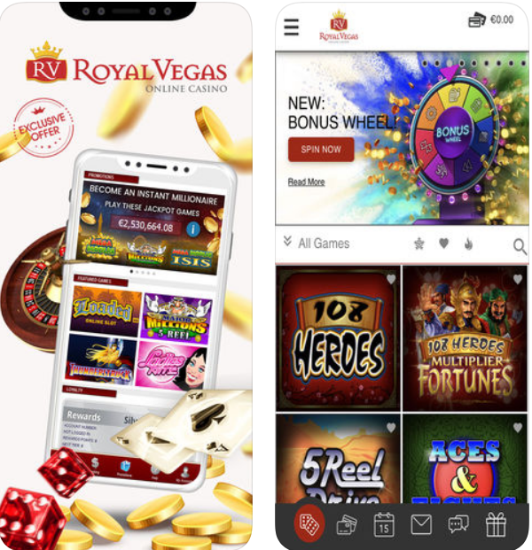 Royal Vegas app