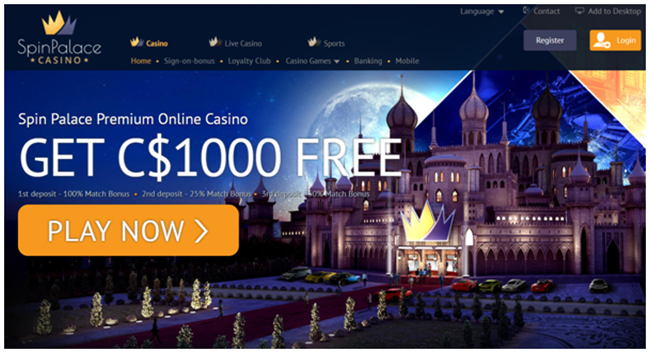 Spin Palace Casino Real Money