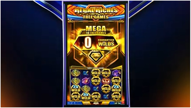 Regal Riches slot wins