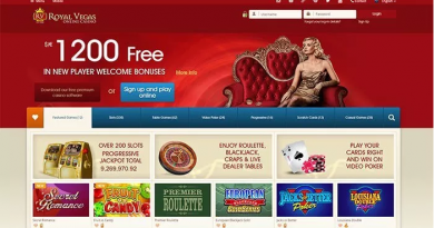 Royal Vegas Canada Bonus