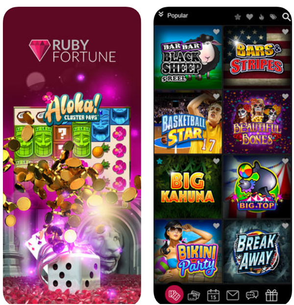 Ruby Fortune Casino Slots for Android