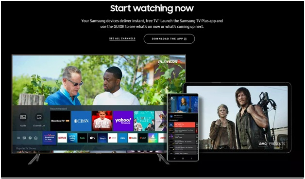 Samsung TV Plus - Channels to watch
