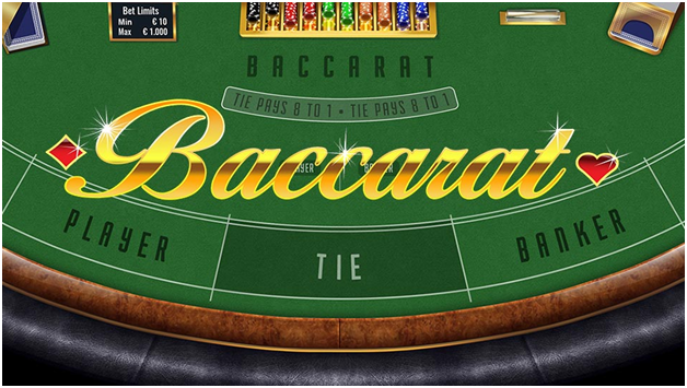 Standard Baccarat at Play Now Canada